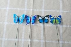 simulated butterfly ornament decoration
