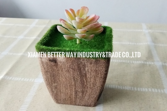 Pulp Pot Flocking Pots Succulents Pots Environment-friendly Flower Pot