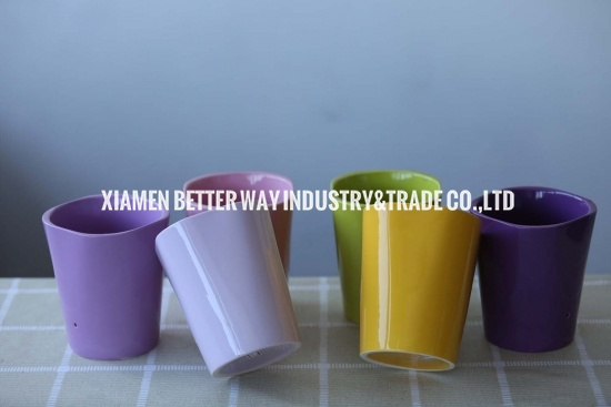 Unique Design Colourful Ceramic Flower Planter Pots