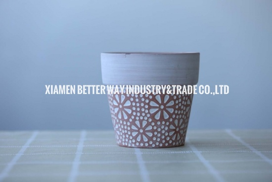 small earthen pot