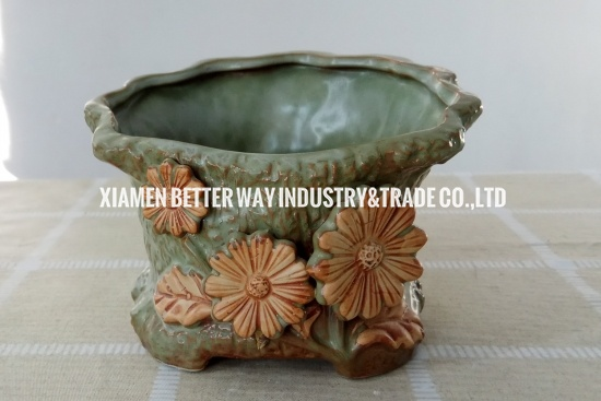 New Floral Root Like Flower Pot Succulent Planter Container Pot