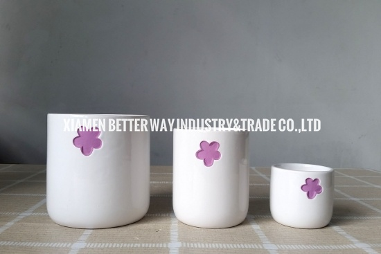 Ceramic Succulent Pot Container Orchid Flower Pot