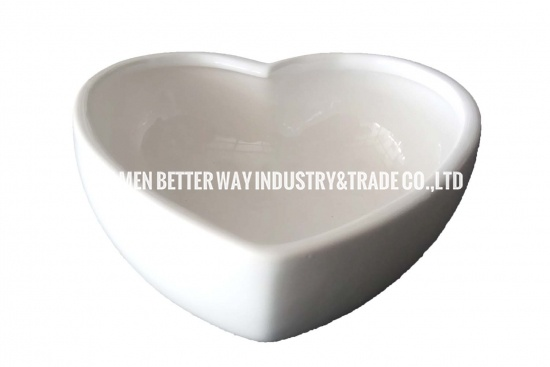 Heart Shape Ceramic Succulent Pot Container Gift