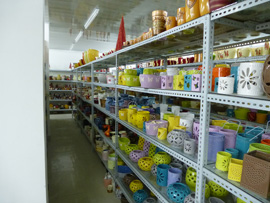 Ceramic Oil Burners Sample Room